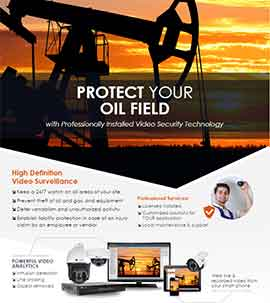 Oil Field Security Solutions